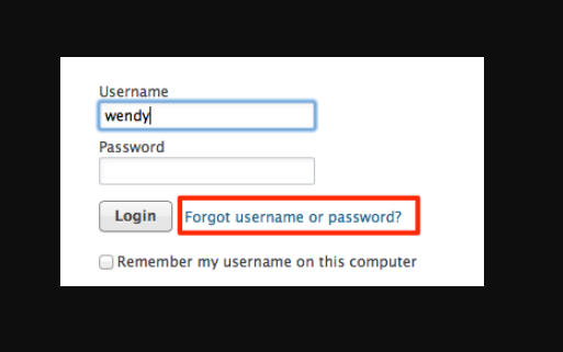 10.1.1.1 forgot username and password