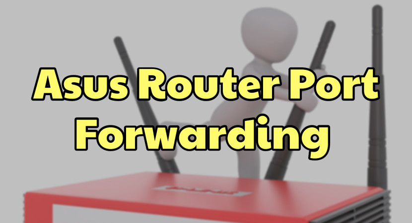 asus router port forwarding